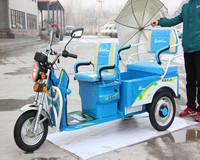 CE Certification and Electric Driving Type three wheeler tuk tuk