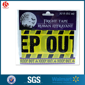 Halloween Party banners/ caution tapes/fright tapes