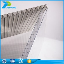 UV protection high quality 20mm lexan double wall polycarbonate sunlight sheets