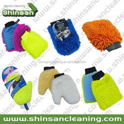 customized car wash mitt , microfiber wash mitt