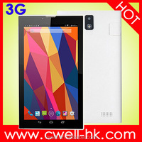 Forfun A8 cheap Manufacturer 2015 7'' screen vatop 3G super thin touch tablet with sim card