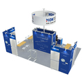 Detian Display offer expo booth display design 20 by 30 portable exhibition stands