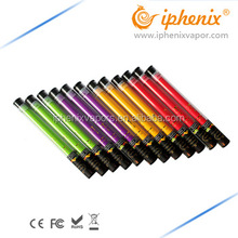 Shenzhen Electronic Cigarette Wholesale Clear Tube Pack E Cigarette Colored