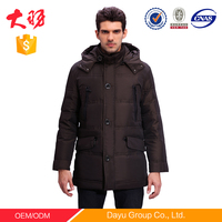 Men's Straight Down jacket Winter Comfy Down Jacket Man Coat