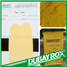 Buy Pigment Manufacture Porcelain Iron Oxide Yellow 810 Synthetic Polvo