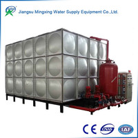 Thermal insulation combined GRP no corrosion farm water storage tank