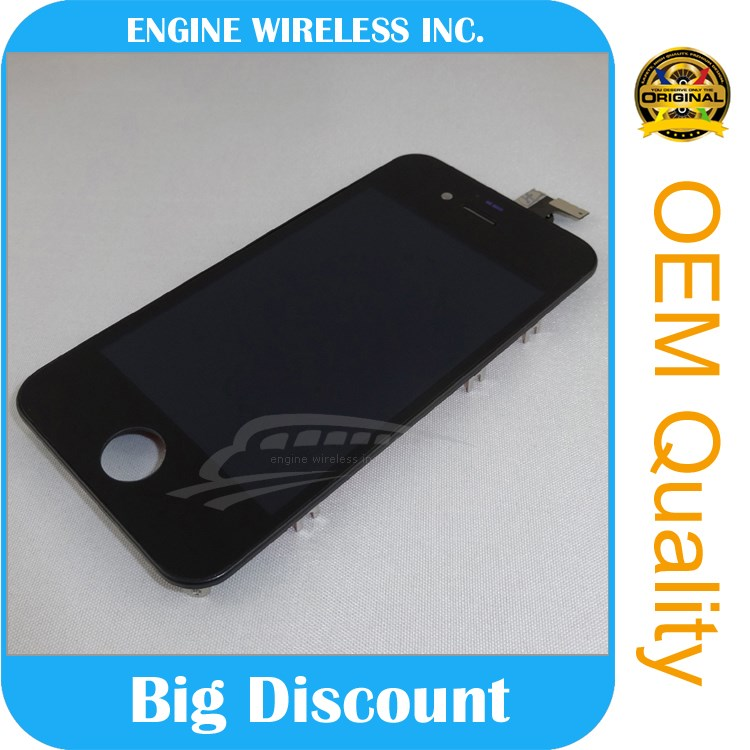 100% full original complete lcd for iphone 4s mobile phone LCD