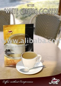 White Ginseng Coffee