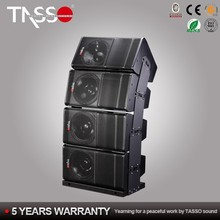 Professional powerful digital power amplifier dsp 6x9 Line Array speakers module