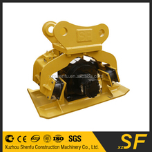 ISO/Certificated excavator plate compaction/plate compactor/excavator vibro machine parts for sale