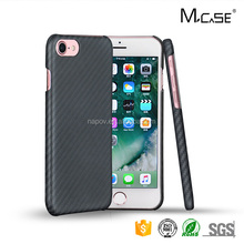 Luxury Mobile Accessories 2017 Aramid Fiber Carbon Fiber Cell Phone Case For iPhone 7