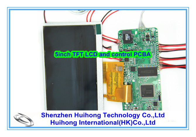 5 inch lcd video player module and video media player module
