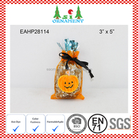 Halloween candy bag with halloween pumpkin