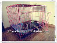 Foldable Stainless Steel Dog Cage /Foldaway Pet Cage