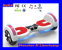 LED flash light mini hoverboardself balance 2 wheels electric scooter/Samsung quality warranty 2016 new self balance scooter