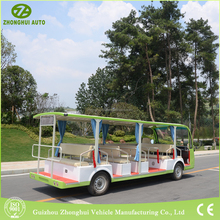 Eco-friendly resort electric vehicle with 23 person tour bus