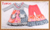 2015new style hot sale turkey wholesale children clothes special baby clothes designer brand clothes of baby outfits sets