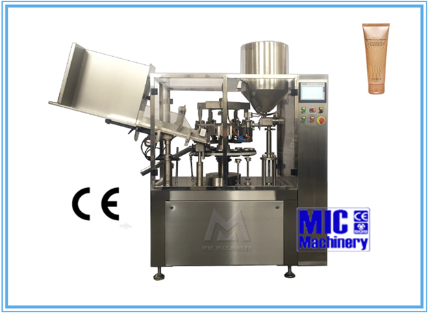 Lasted design CE approved Micmachinery MIC-R60 full-automatic vaccum filling machine