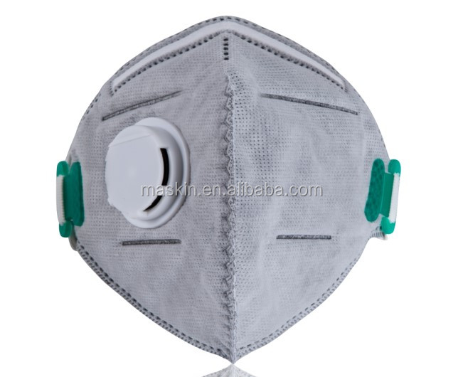wholesale 5 Ply Flat Fold CE FFP2 FFP3 N95 Manufacturer Dust Mask