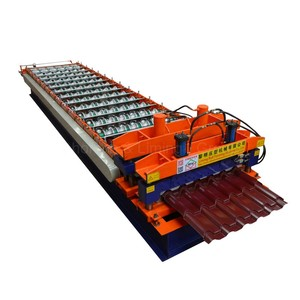most popular automatic terrazzo metal roofing tile and making walls machine roll for sale