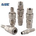 pneumatic quick disconnect coupling air hose tube quick release coupler fittings customised