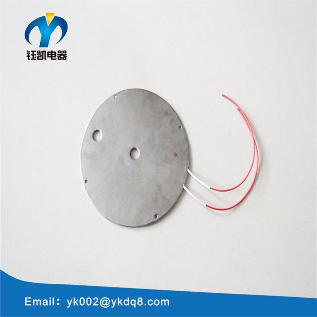 240v 300w plastics industries round shape SS Mica Heating plate