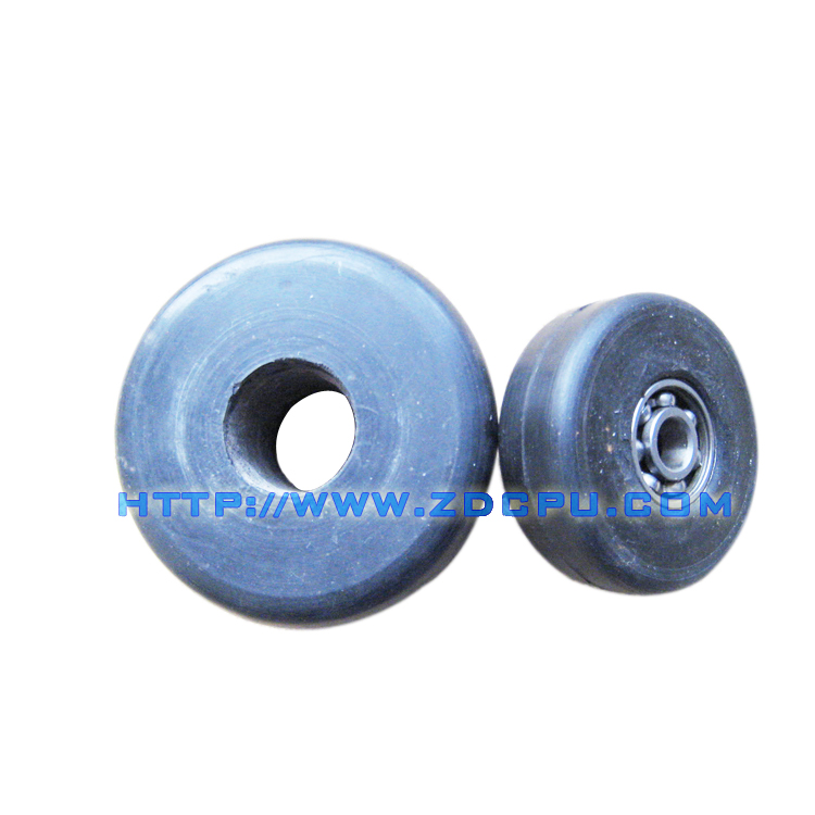 Low price injection molding 12mm rubber pulley lagging