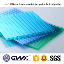 Building materials China Factory wholesale anti-uv transaprent polycarbonate swimming pool cover roof sheet price