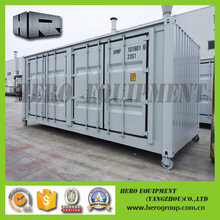 20ft outdoor large side opening door modular homes container house