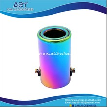 rainbow flexible various type muffler exhaust pipe for car