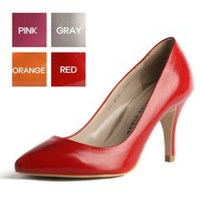 handmade pointed toe leather pumps(225-250mm)