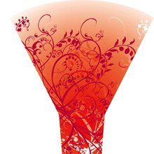 fancy design wrap for flower sleeves or flower bouquets packaging