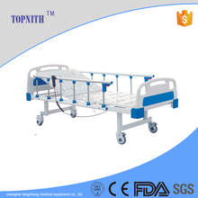 Four function hospital bed for ICU room medical equipments with commode