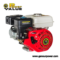 Power Value 200cc gasoline engine air cooled ohv 4 stroke engine zh200