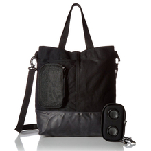 Custom canvas tote bag,tote hand bag for man with bluetooth speaker