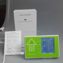 Latest PM 2.5 PM10 formaldehyde detector Indoor Air Quality Monitoring With High Accurate