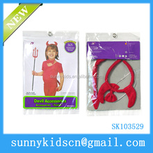 party accessory red devil horns accessory decoration devil headband