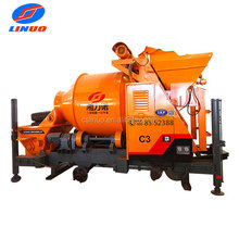 Linuo C3 High performance small mobile concrete mixer with pump for sale