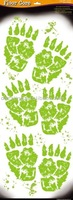Floor Sticker / Window Cling - Monster Footprint