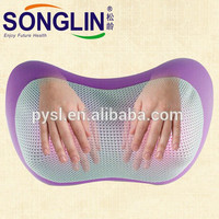 Hot Selling Electric Home Using Purple Shiatsu Massage Pillow