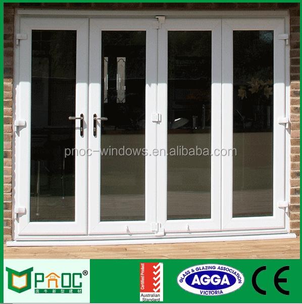Cheap Price Lowes French Bi Folding Door Exterior Aluminium Folding Doors B