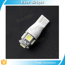 t10 flashing led light Trade assurance 5050 5smd