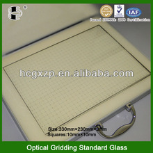 Highly Accuracy Optical Instrument Test Board Standard Glass