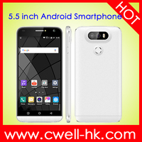 X-BO G5 OEM e mail mobile phone 5.5 inch Arced IPS Screen Android 5.1 Quad Core RAM 512MB ROM 8GB 3G GPS