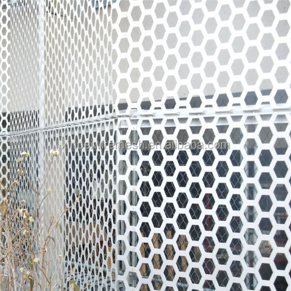 Exterior decorative perforated metal mesh type perforated metal panels china factory buy - Decorative wire mesh panels ...