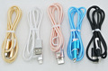 factory price braid micro 2 in1 usb cable for Samsung and iphone