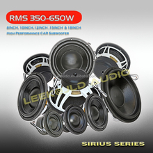 JLDAudio Hot Sell 10/12/15/18 Inch China Subwoofer 350-650w RMS powered car audio subwoofer
