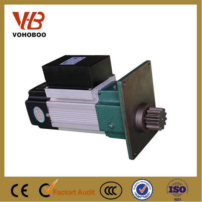 CE, ISO, CCC certification crane geared electric motor 4kw 380v