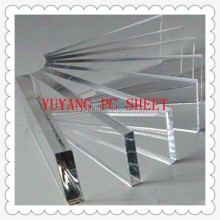 custom cut polycarbonate 10mm solid sheet/ corrugated roofing solid Polycarbonate Sheet/ PC HOLLOW SHEET