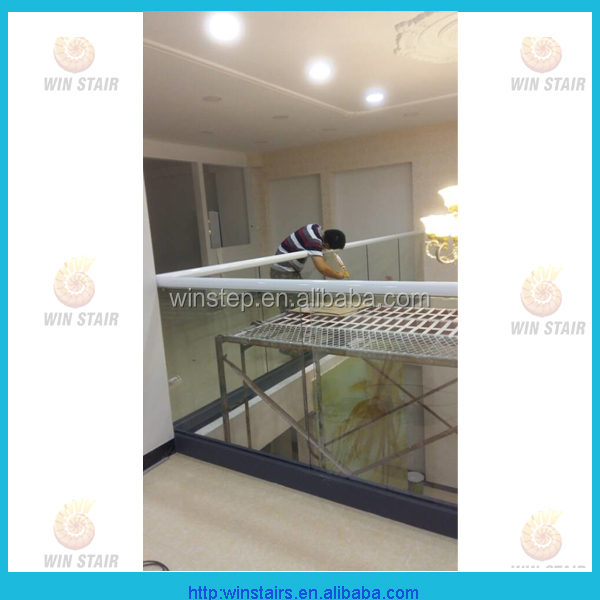 aluminum shoe base aluminum glass fixed u channel frameless glass railing